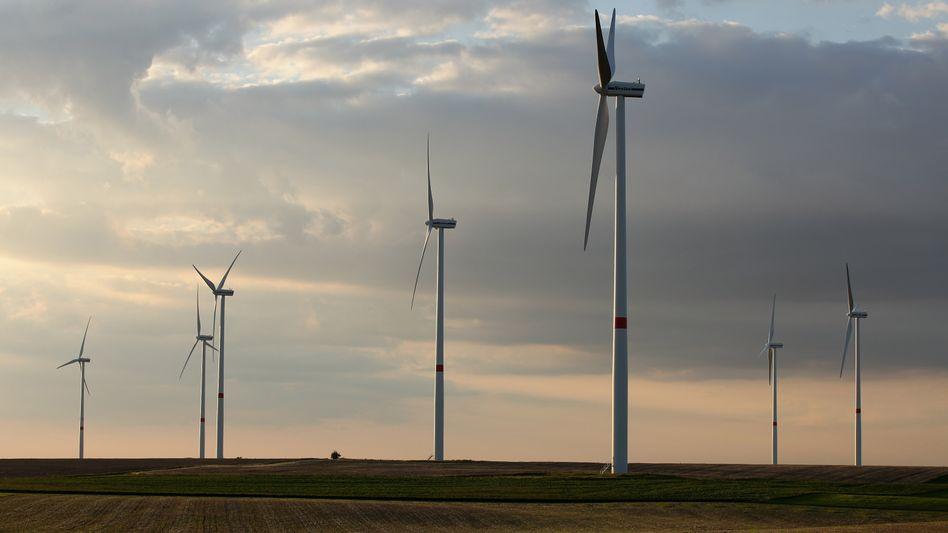 Windpark im sächsischen Prösitz: Die grüne Energie ist weiter auf dem Vormarsch