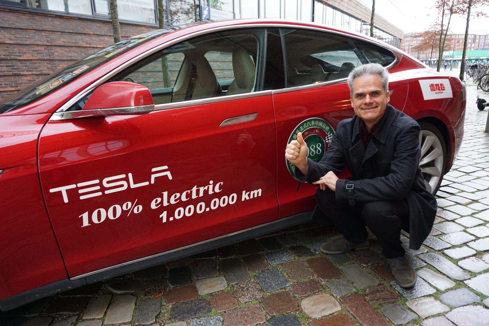 Hansjörg-Eberhard Freiherr von Gemmingen-Hornberg / Tesla Model