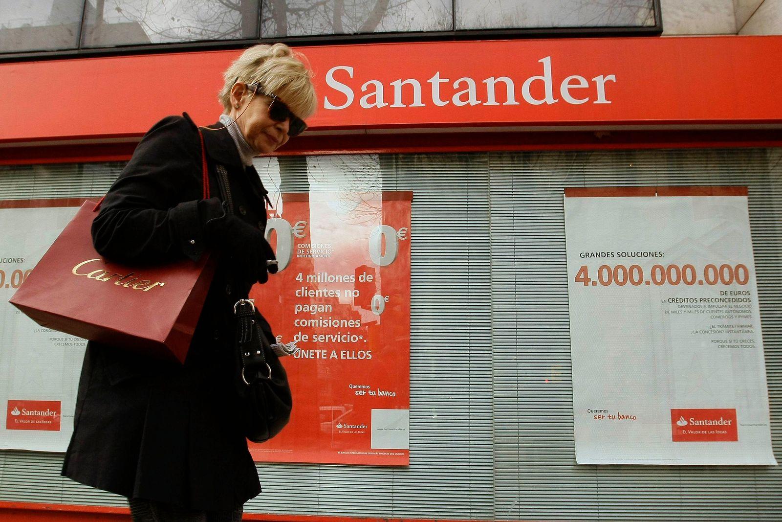 größte spanischen Banken / Santander
