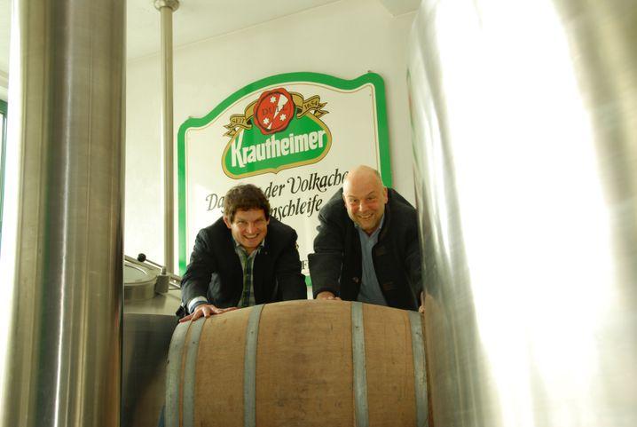 Bringen das Fass ins Rollen: Friedrich Düll und Ralf Dücker