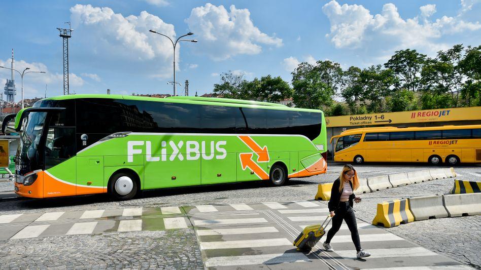Flixbus in Tschechiens Hauptstadt Prag (Archivaufnahme)