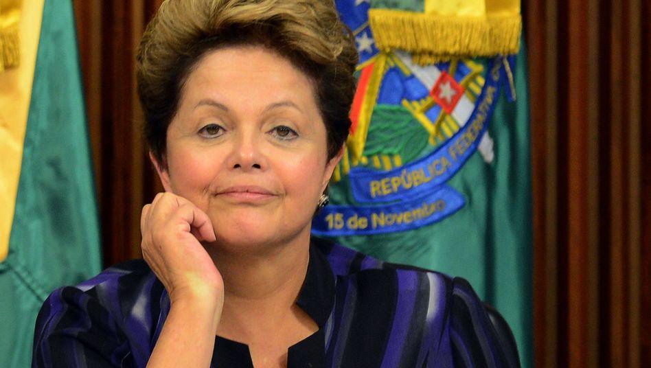 Brasiliens Präsident Dilma Rousseff: Volksabstimmung über Sozialreformen angeboten