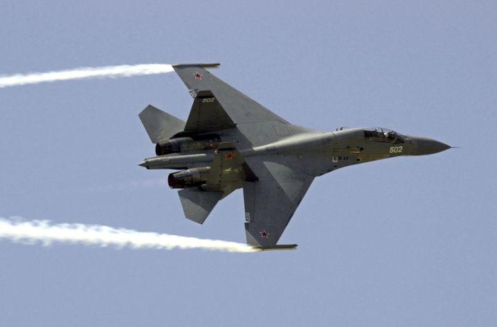 Russischer Kampfjet: Seit dem Abschuss einer russischen Militärmaschine herrscht diplomatische Eiszeit zwischen der Türkei und Russland