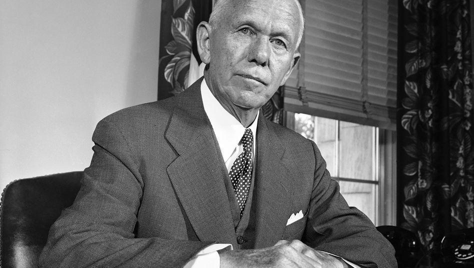 """Ein Name, viele Programme: Der nach dem ehemaligen US-Außenminister George C. Marshall benannte """"Marshall-Plan"""" musste schon für manche politische Idee herhalten"""