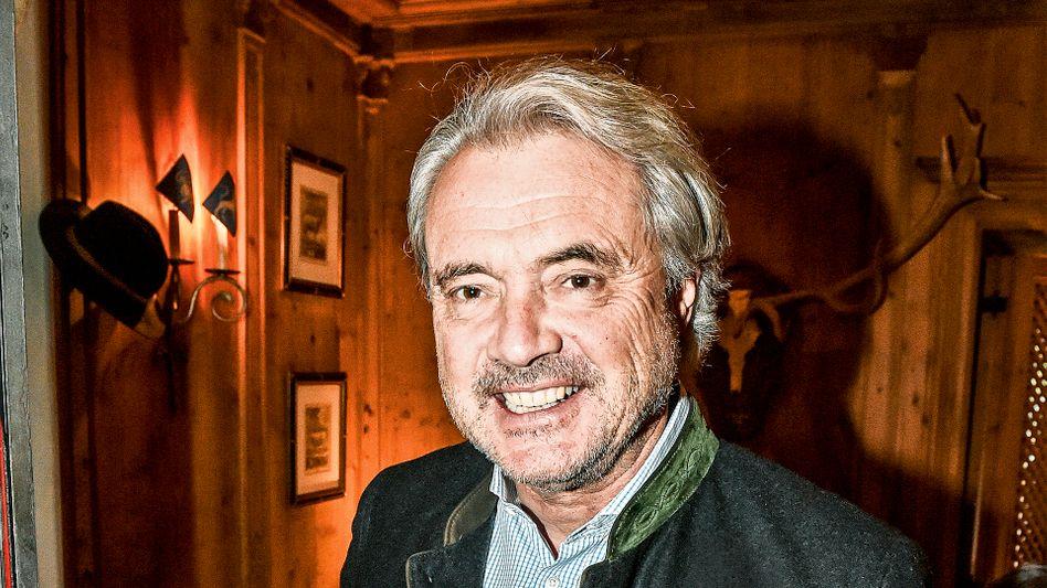 Glamour hat er: Conrado Dornier in Kitzbühel