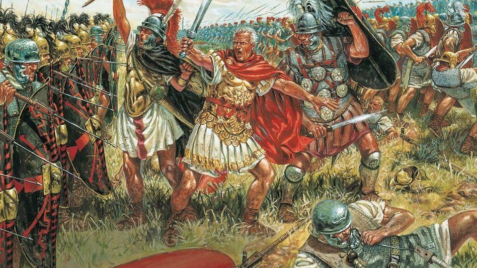 STUNDE DES STRATEGEN Erfolgreiche Feldherrn wie Julius Cäsar waren Realisten, sagt Autor Gaddis