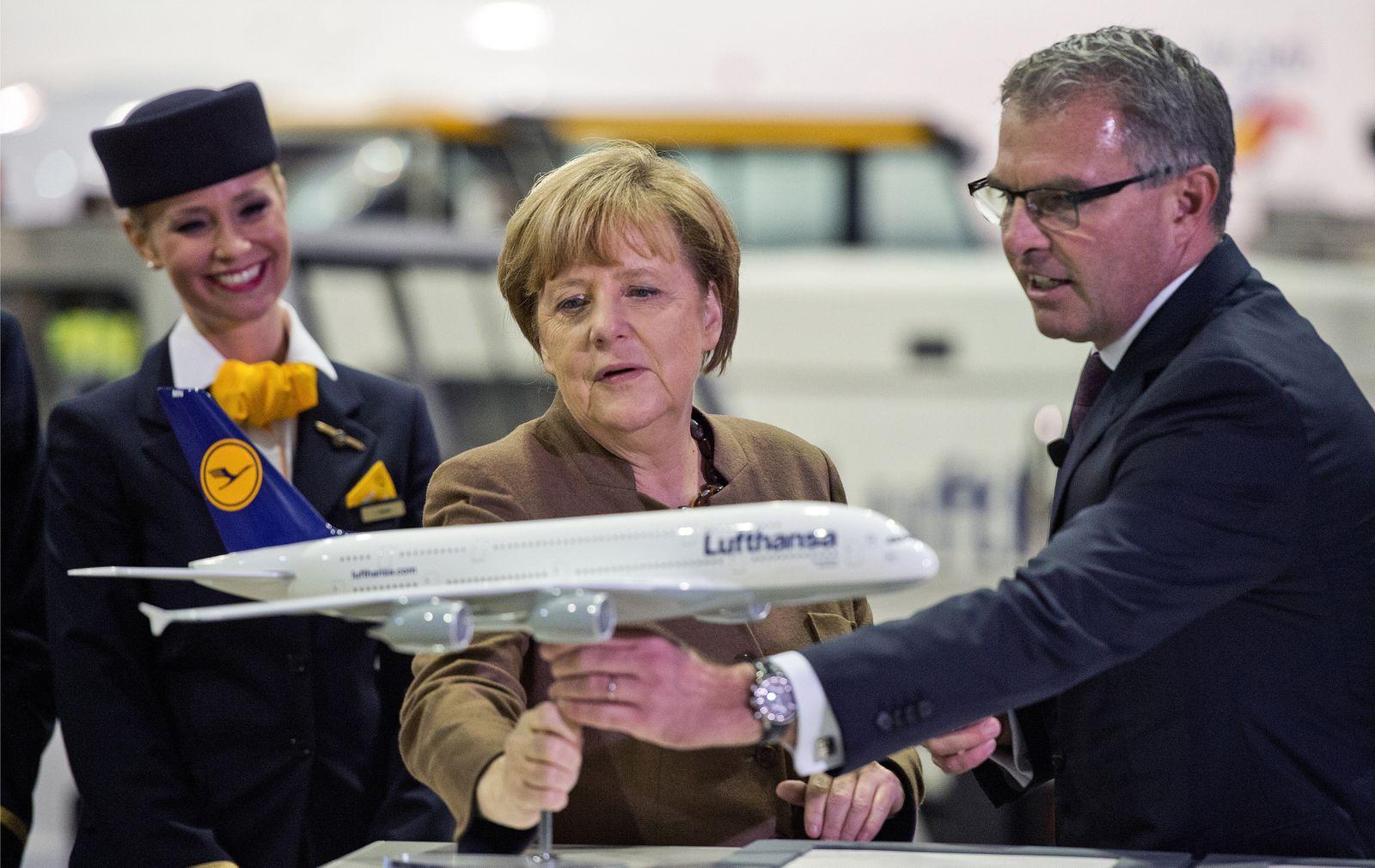 Spitzengespräch zu Rettungspaket für die Lufthansa geplant