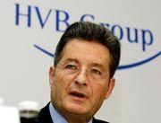 Kämpferisch: HVB-Vorstandschef Albrecht Schmidt wehrt sich gegen die Münchener Rück