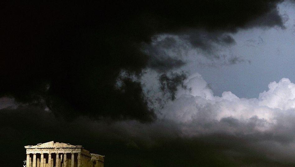 Akropolis in Athen: Jetzt droht es wirklich ernst zu werden
