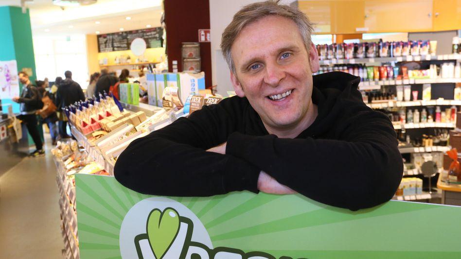Zukunft im Großhandel: Jan Bredack, Gründer des veganen Supermarktes Veganz