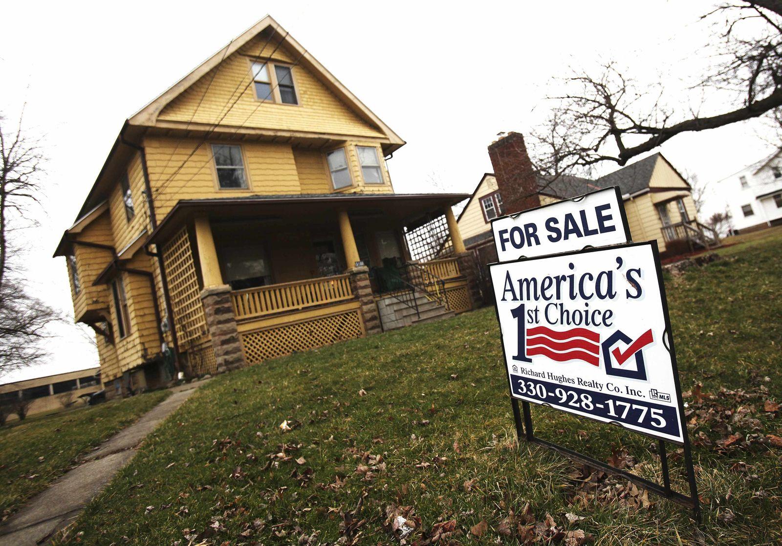 USA / Haus zu verkaufen / Bankenkrise