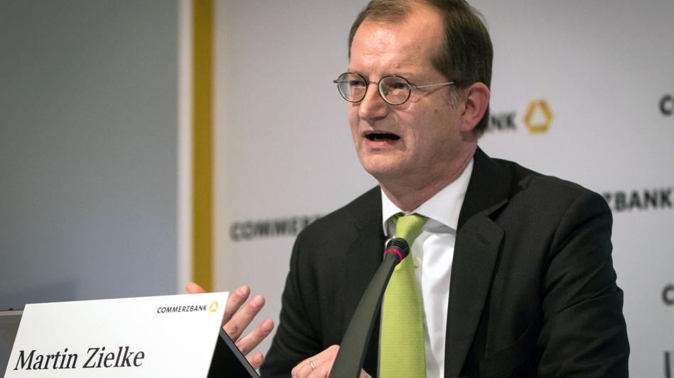 Martin Zielke: Der Privatkundenvorstand der Commerzbank hat beste Chancen, die Nachfolge von Martin Blessing als Commerzbank-Vorstand anzutreten