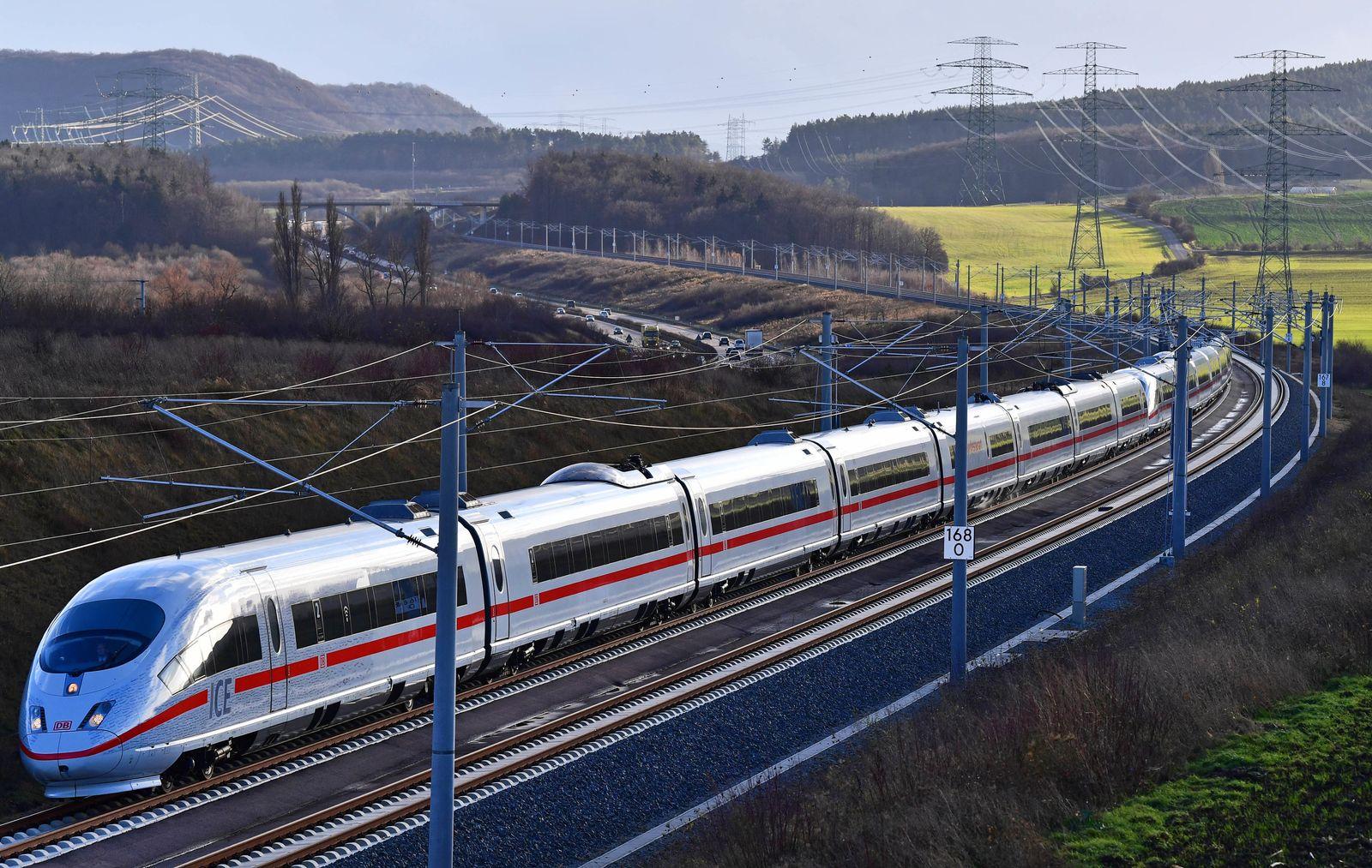ICE Strecke VDE8 München - Berlin