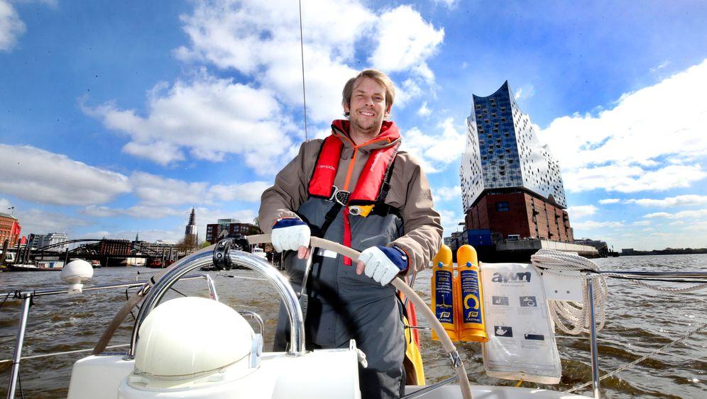 Elbsegelei: Holger Brauns ist der einzige Segel-Skipper in Hamburg