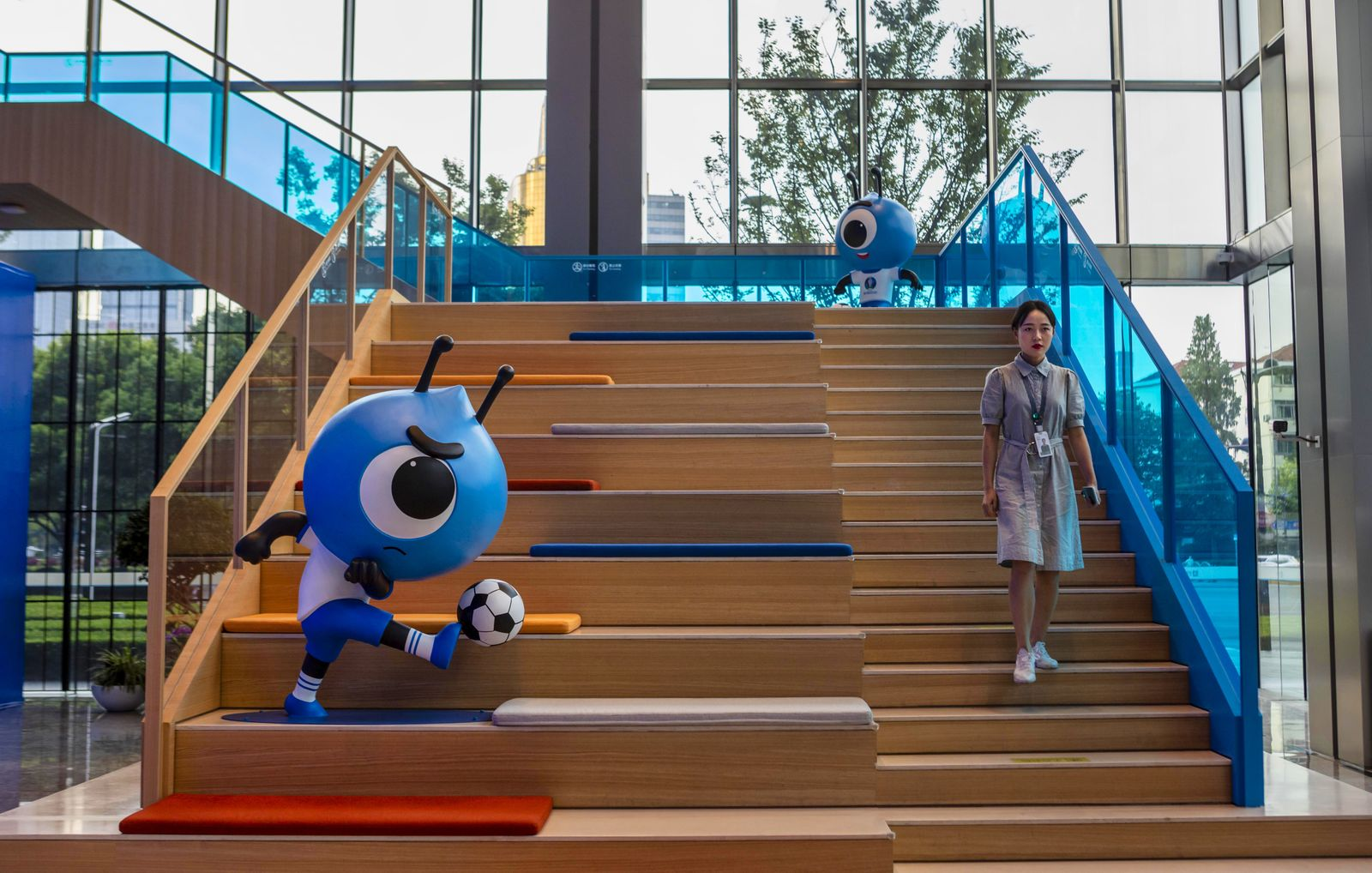 China's Alipay and Ant Group Shanghai headquarters - 03 Sep 2020