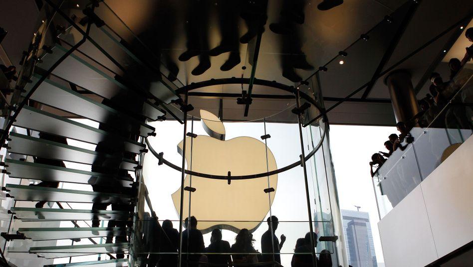 Im Herbst 2011 eröffnete Apple in Hongkong das erste Geschäft in der Volksrepublik. Mittlerweile betreibt Apple in China 15 Geschäfte