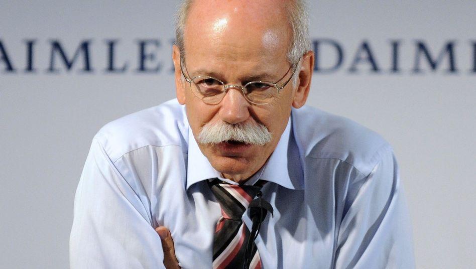 """Daimler-Chef Zetsche: """"Wir liegen zur Jahresmitte 2011 nicht nur im Plan, sondern darüber"""""""