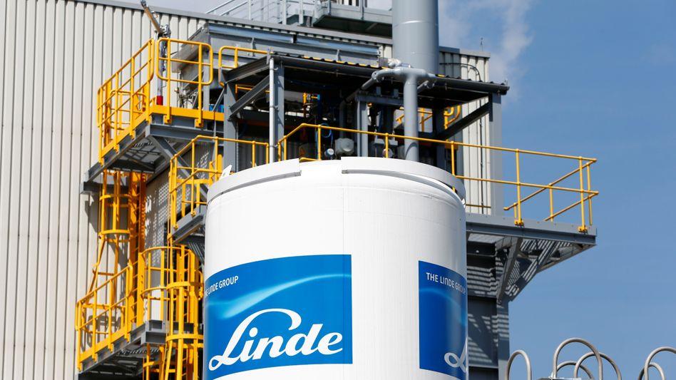 Linde-Zentrale in München: Gewinn trotz des schwachen Dollars im ersten Quartal gesteigert