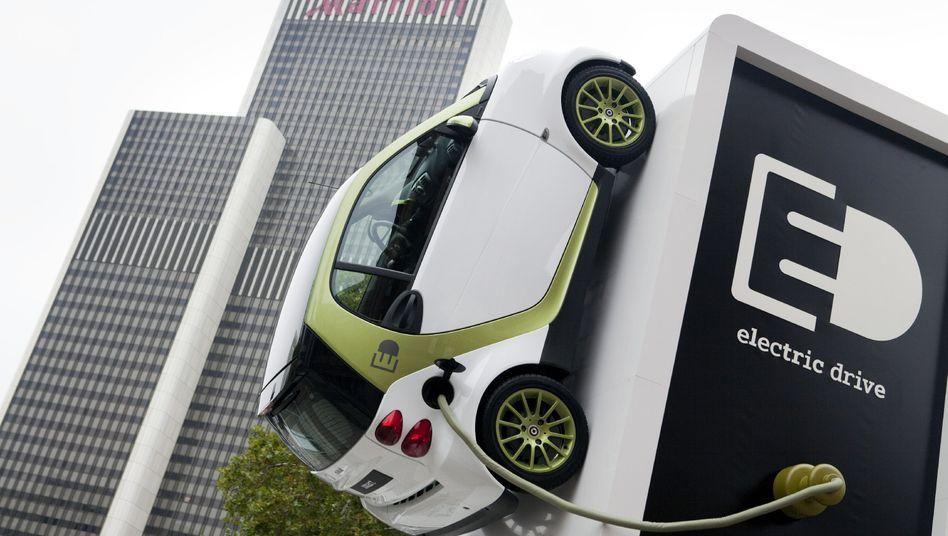 Der Kleinwagen Smart soll spätestens ab 2020 nur als Elektroauto auf den Markt kommen