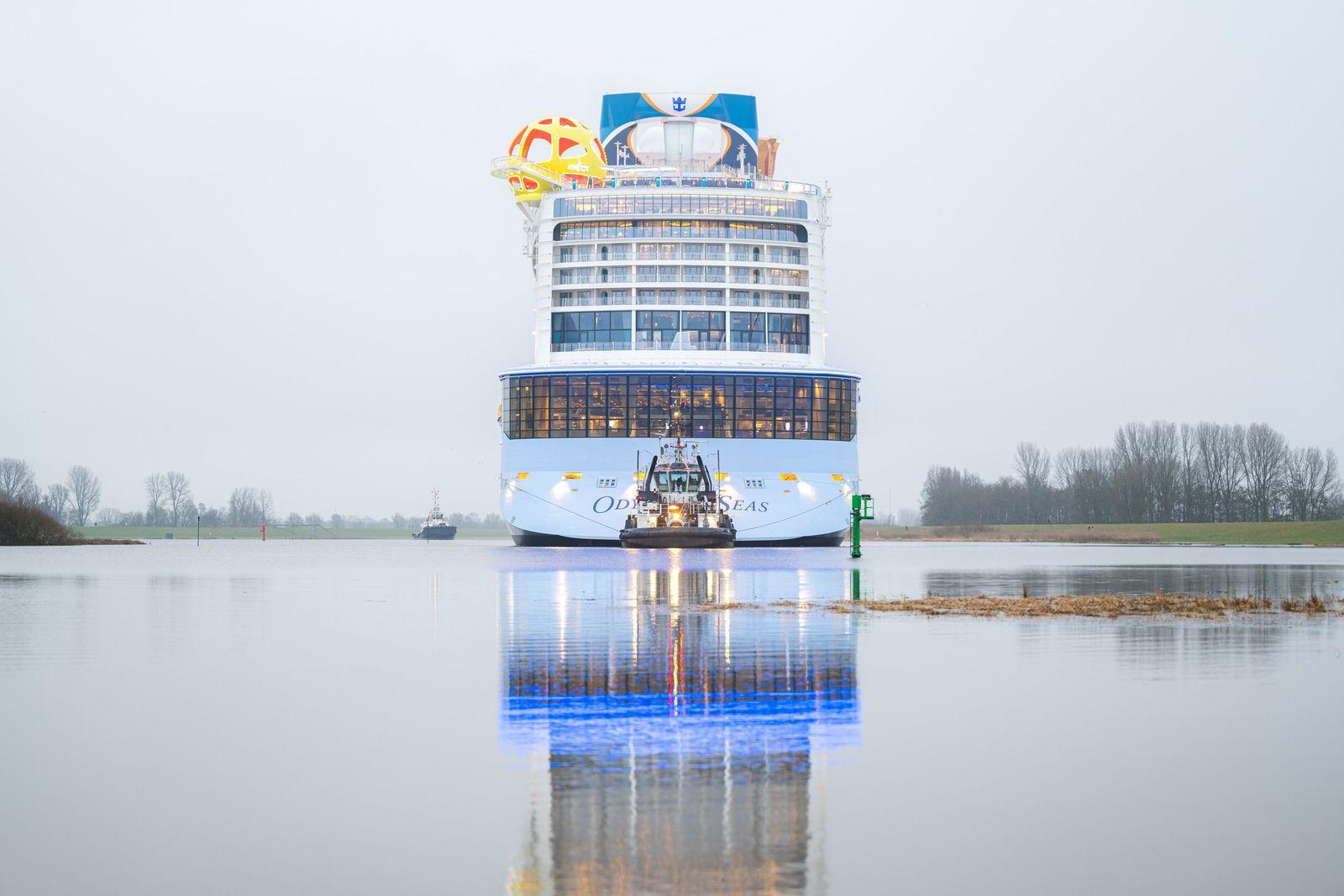 """Überführung Kreuzfahrtschiff """"Odyssey of the Seas"""""""