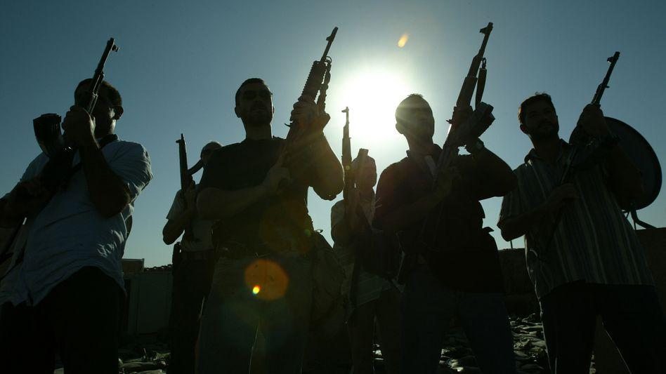 Privater Sicherheitsdienst: Blackwater wurde weltweit bekannt, als eine Gruppe von Mitarbeitern bei der Bewachung eines US-Diplomatenkonvois in Bagdad mindestens 14 Zivilisten erschoss