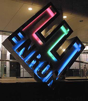 Pleite: Enron meldete 2001 Insolvenz an