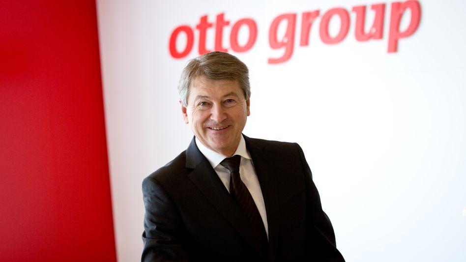 Der Vorstandsvorsitzende der Otto Group: Hans-Otto Schrader