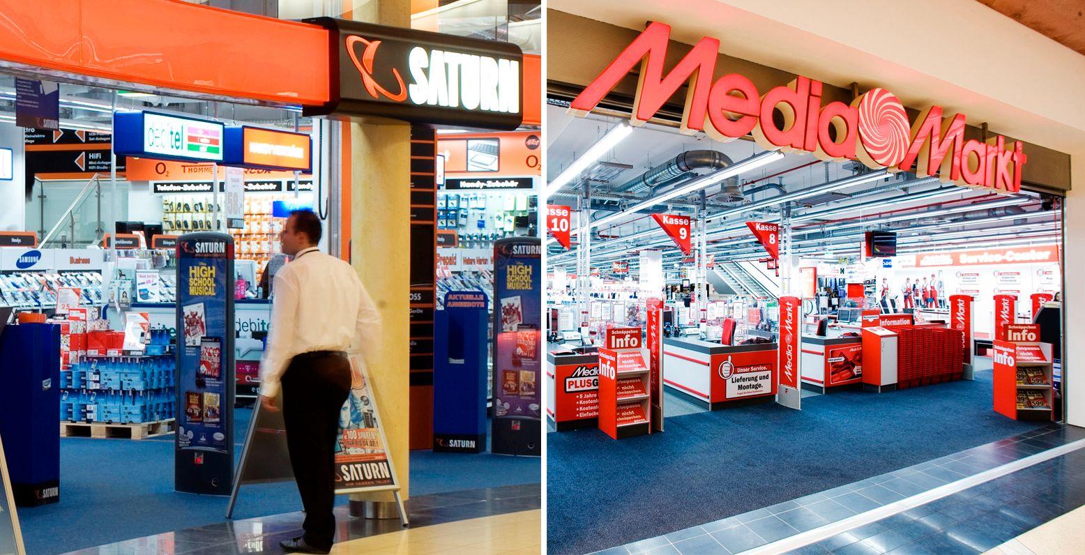 Saturn und Media Markt / Elektronikmarkt