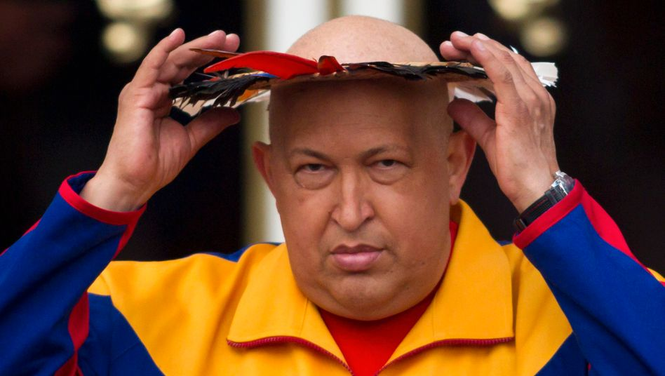 Problem nicht im Griff: Venezuelas Präsident Hugo Chávez findet gegen die galoppierende Preissteigerung im Land kein Mittel