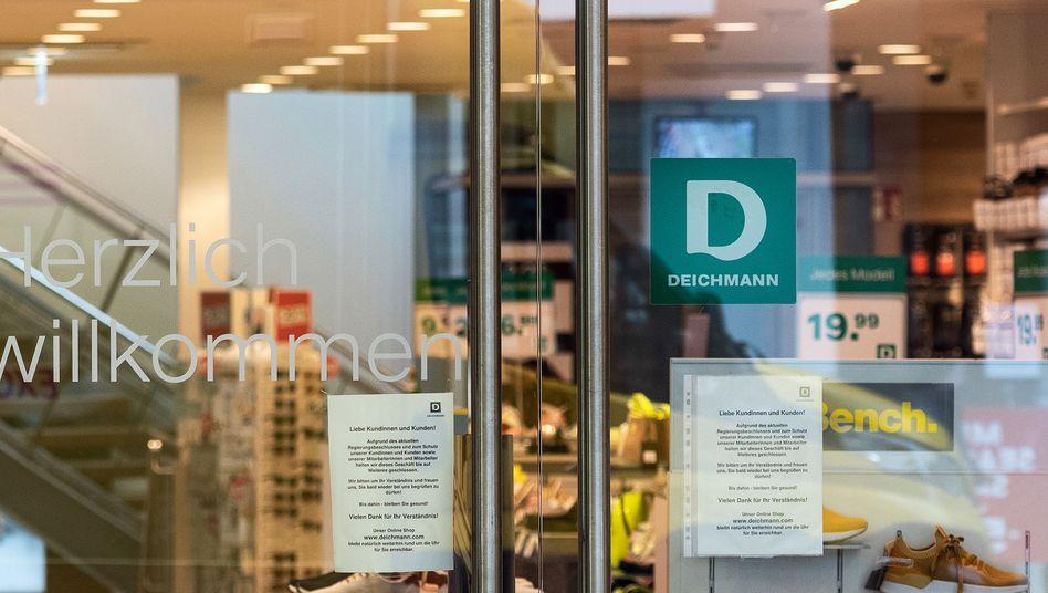 Deichmann-Filiale in Dortmund: Das Unternehmen wurde 1913 von Heinrich Deichmann gegründet