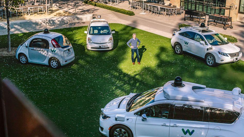 Car Guy: Waymo-CEO John Krafcik war mal Ford-Manager. Nun herrscht er über die Robomobile der Google-Ausgründung.
