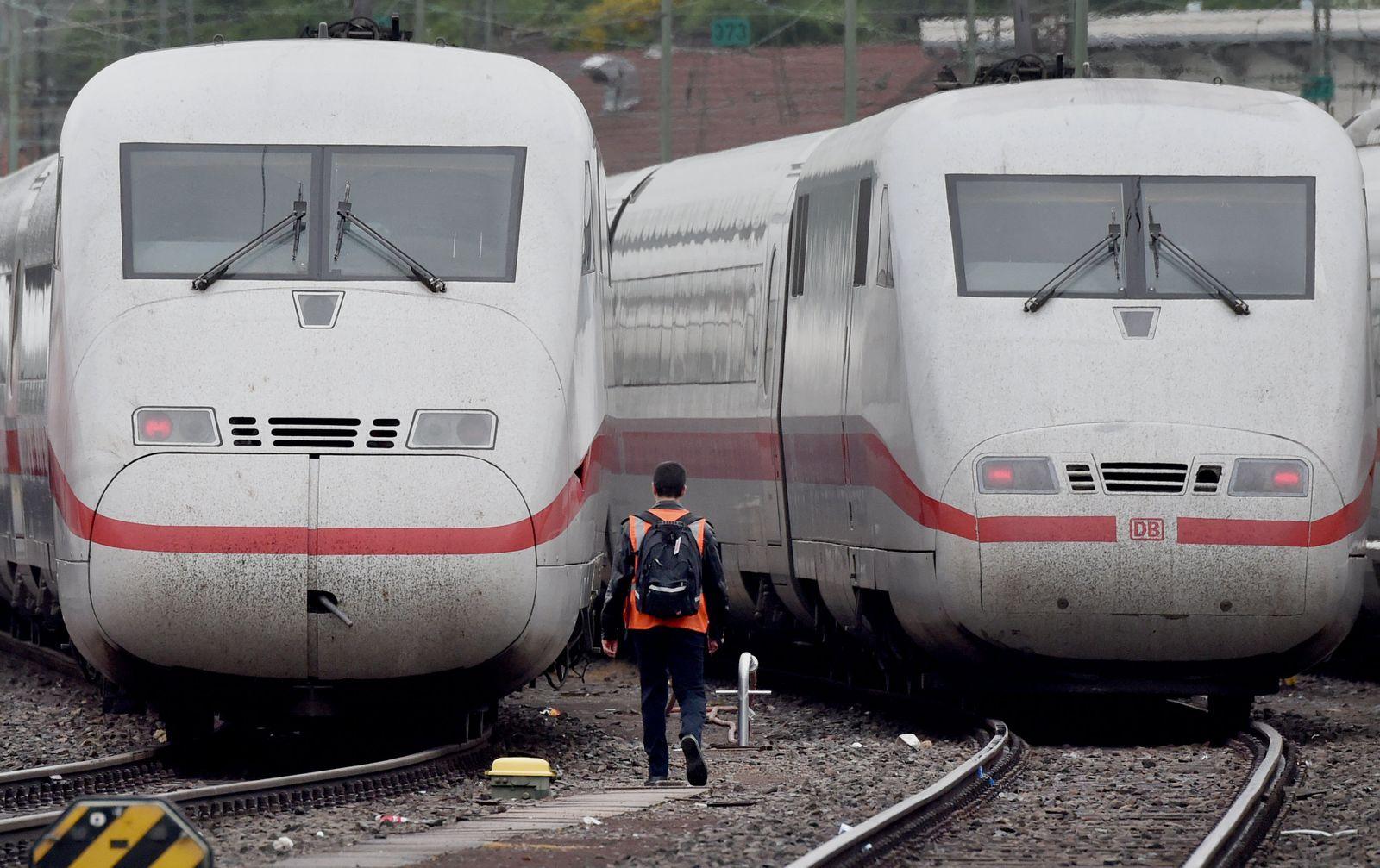 Bahn/ GDL/ Streit