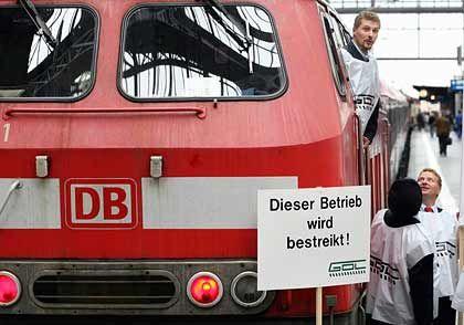 Möglicher Streik am Freitag: Die Bahn arbeitet an Notfallplänen