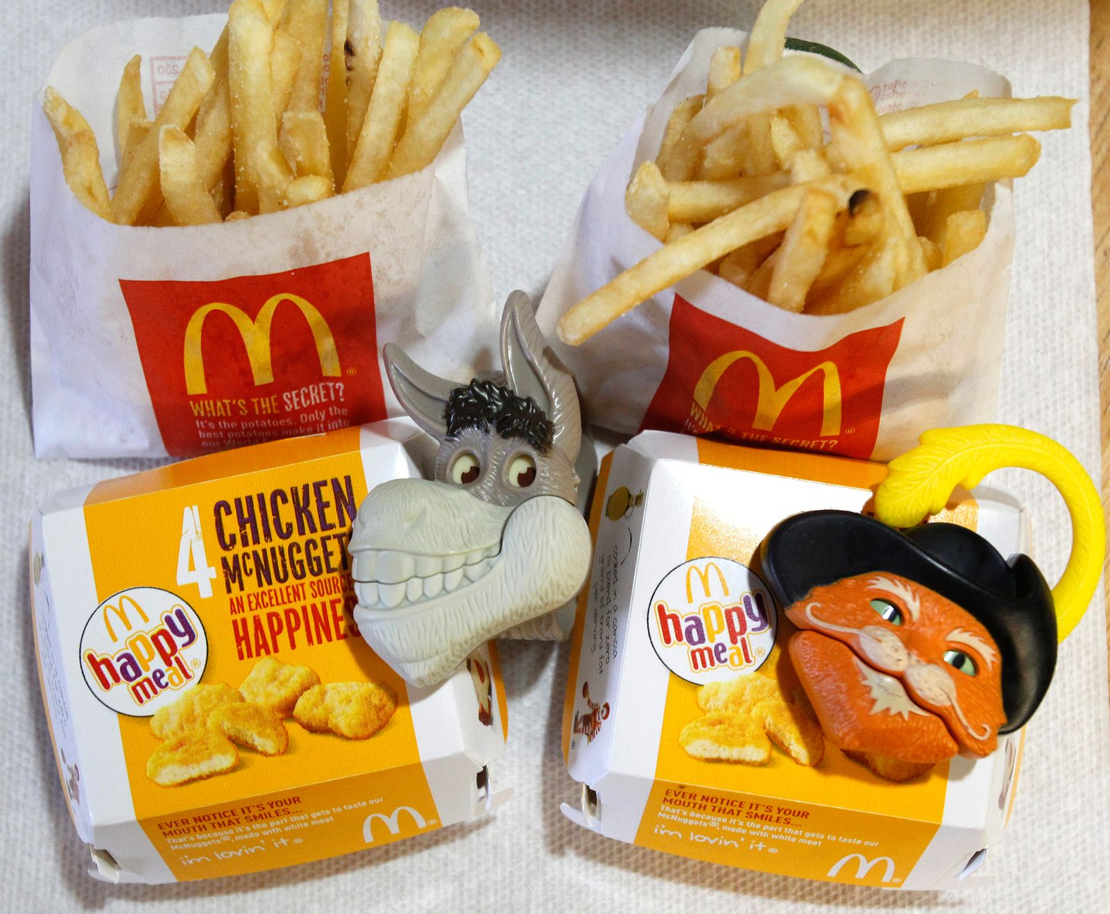 McDonalds / McDonalds / Happy Meal