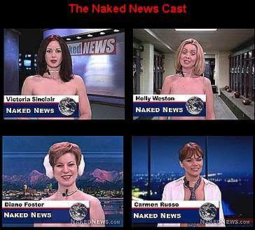 """Naked News"": Tumbes Stripshow-CNN-Plagiat"