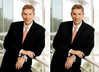Imagefrage: Siemens-Chef Kleinfeld mit und ohne Rolex