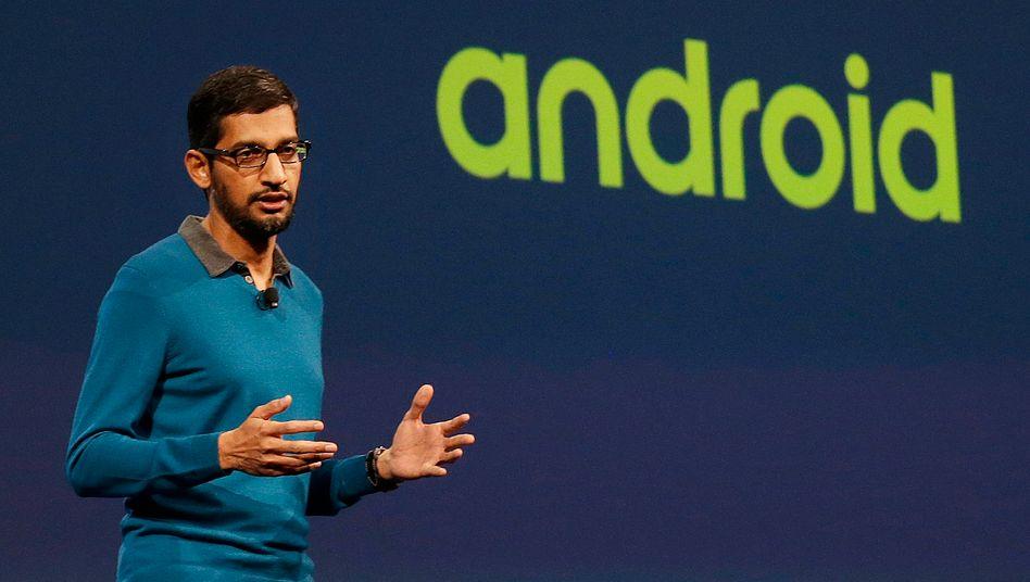 Mehr Energie für den Phone-Bereich: Google-Chef Pichai