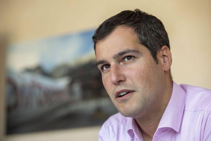 Zugeschlagen: Zeitfracht-Finanzchef Wolfram Simon-Schröter, der bis April 2020 noch als Vorstandschef amtierte