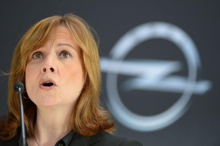 GM-Chefin Barra: Bislang fuhr Opel unter ihrer Ägide nur Verluste ein