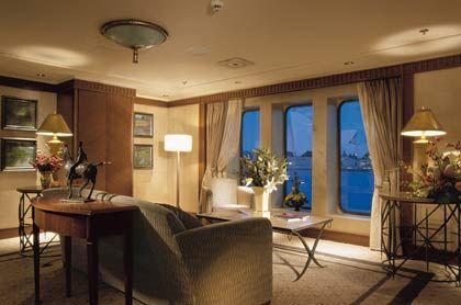 Schwimmendes Wohnzimmer: Luxus-Suite auf der QE2