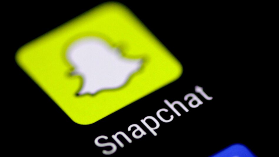 Logo der Video-, Foto- und Messaging-App Snapchat
