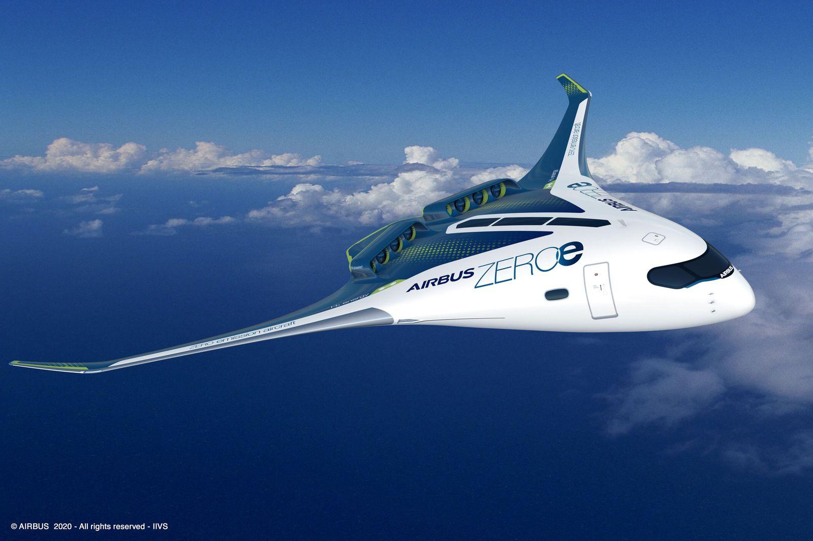 Airbus Wasserstoff-Flugzeug