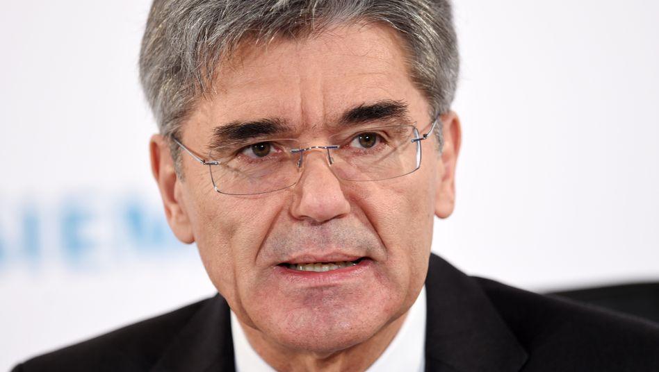 """Siemens-Chef Joe Kaeser fährt nicht nach Riad: """"Die sauberste Entscheidung, aber nicht die mutigste"""""""
