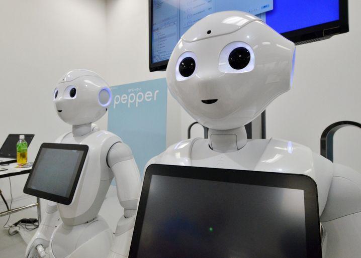 Softbank Roboter Pepper: Nestlé hat schon 1000 Exemplare bestellt
