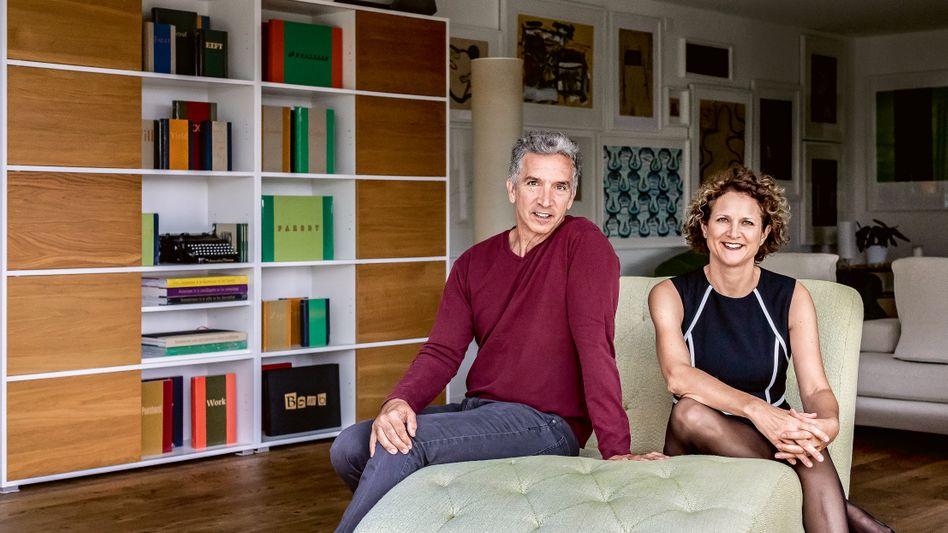 Dream-Team: Ursula Soritsch-Renier gehört seit Juni 2018 als Group Chief Information Officer zum Topmanagement von Nokia. Ehemann James organisiert das Familienleben.