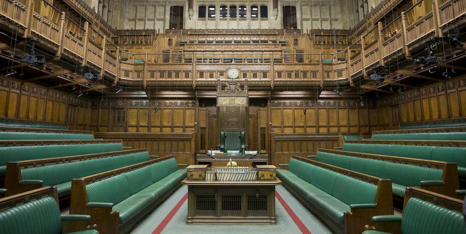 Leere Bänke: Die Zwangspause des britischen Parlaments ist nicht rechtens, urteilte jetzt das höchste schottische Berufungsgericht