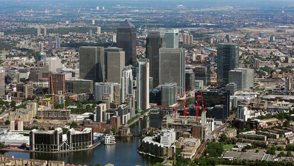 Londons Finanzzentrum Canary Wharf: Europa diskutiert neuen Notfallfonds für Banken