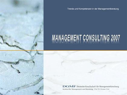 "Berater-TÜV: Die Studie ""Management Consulting 2007"""