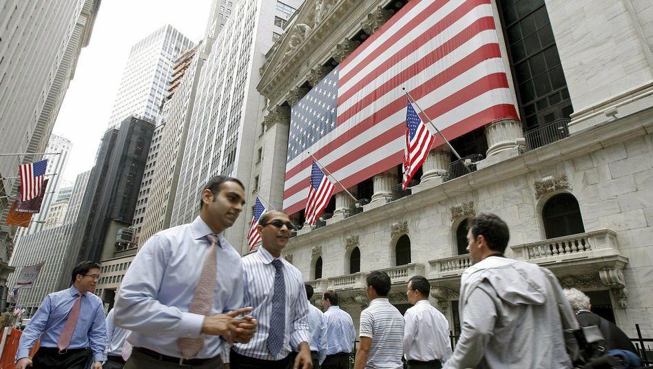 Finanzszene in New York: Banken unter Druck
