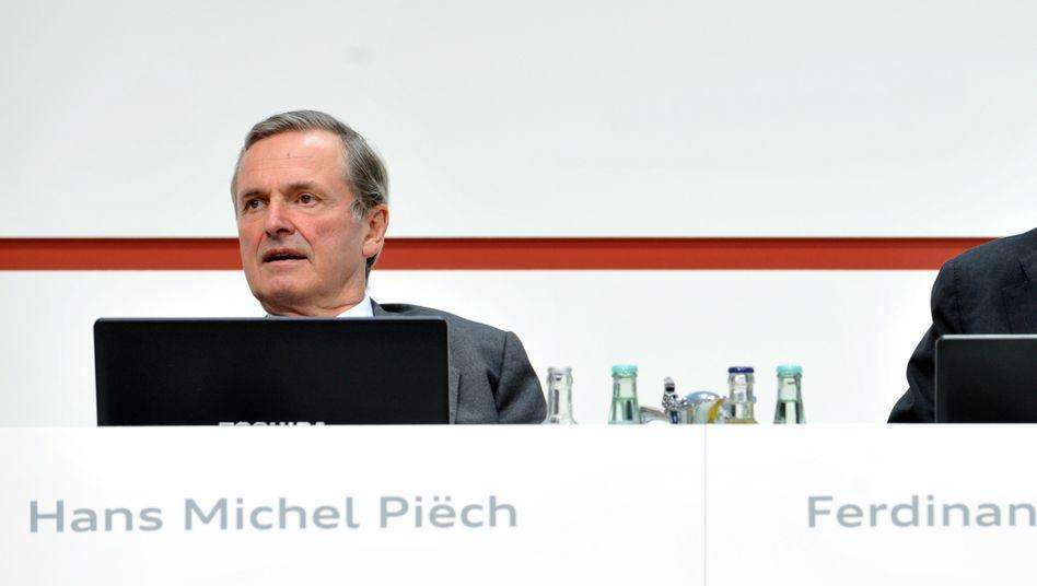 Übernahm die Anteile von seinem Bruder Ferdinand: Hans Michel Piëch